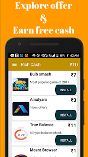 Rich Cash - earn paytm cash and free recharge - náhled