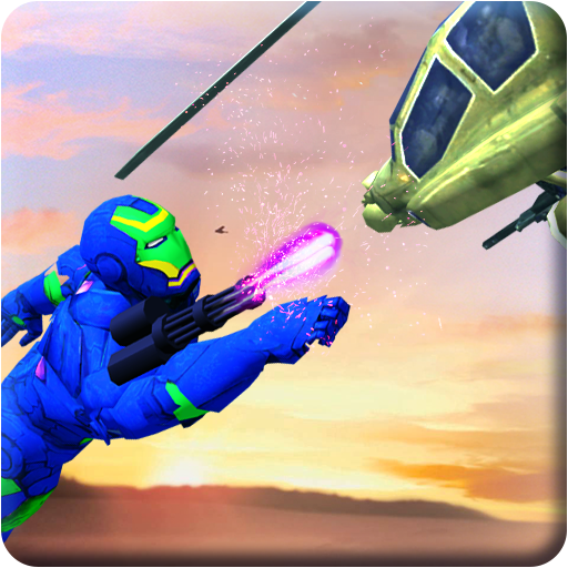 Flying Iron Hero: Helicopter Shooting Tank Battle