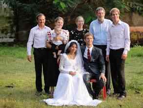 Photo: David's Family from America.