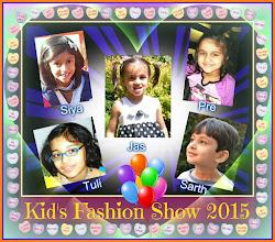 Photo: enjoy 'Fashion Ka Jalwa' extravaganza more kids will join them in the ramp walk soon