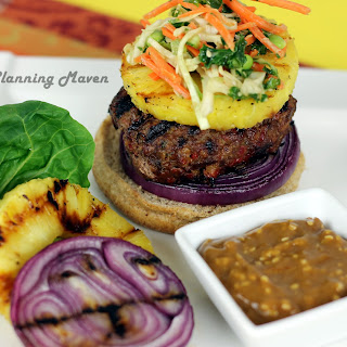 Grilled Asian Burgers