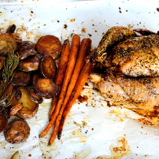 Roast Chicken With Carrots And Potatoes Recipes.