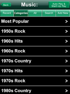 iNetRadio- screenshot thumbnail