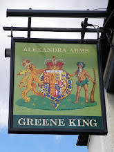 "Photo: The Alexandra Arms - what is the significance of the Pagan? Thank you to Lisa-Marie Damant for the answer in 2011 "" the figure is the green man and he signifies fertility, remembering that this area is and was arable land for long long time so the farmers wanted good crops and the green man and his counter part Sheela na Gig were the pagan symbols of that"""
