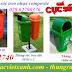 Sản xuất thùng rác treo 50 lít, thùng rác treo 55 lít giá rẻ call 01208652740 – Huyền
