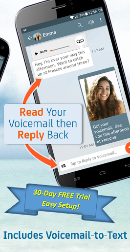 YouVOXX Voicemail, Call Blocker screenshot 2
