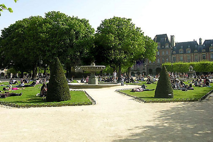 Park near Place de Thorigny