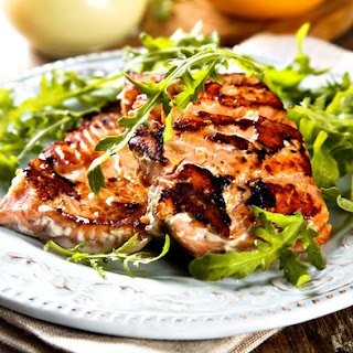 Salmon Fillet Salad Recipes