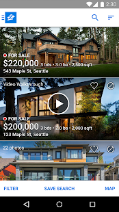 Real Estate & Rentals - Zillow- screenshot thumbnail