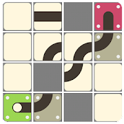 Rolling Ball-Slide Puzzle