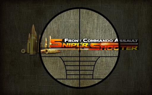 Front Commando Sniper Shooter