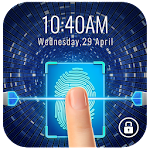 Fingerprint Lockscreen App to Unlock Phone(prank) Icon