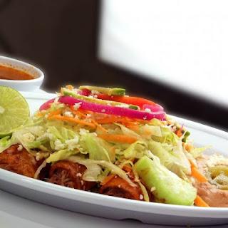 Beef & Chicken Enchiladas.