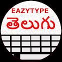 EazyType Telugu  Keyboard Emoji & Stickers Gifs icon
