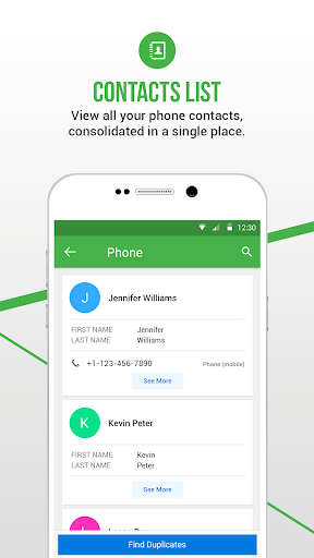 Duplicate Contacts Fixer and Remover screenshots 3