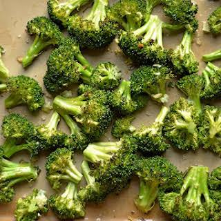 Roasted Garlic Lemon Broccoli.