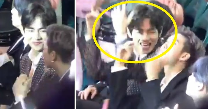 BTS V Had The Cutest Reaction To Taylor Swift's