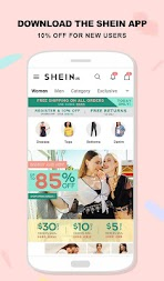 SHEIN-Fashion Shopping Online APK screenshot thumbnail 1