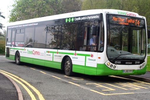 Free weekend bus services to Cardiff