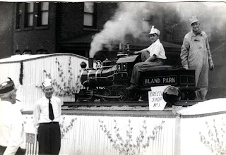 Photo: The amusement park locomotive (live steam) from Bland's Park, Tipton, PA. This locomotive no longer operates, but is fully restored and on display at the successor DelGrosso Park (but, the same park owner throughout it's history).