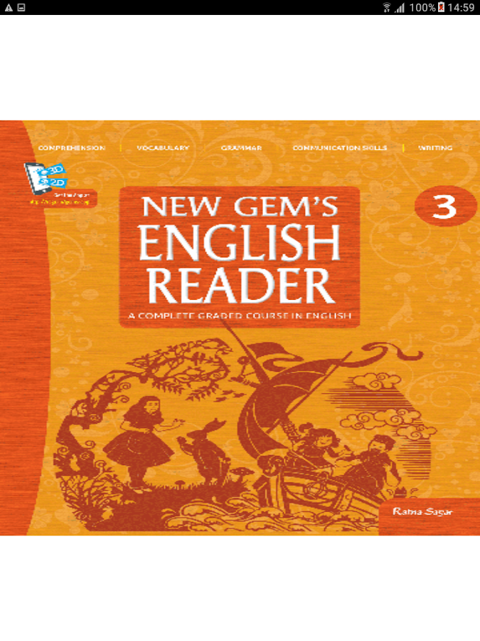 New Gem's English Reader 4- screenshot