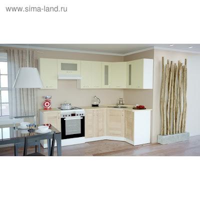Кухонный гарнитур Камилла оптима 1300*2500