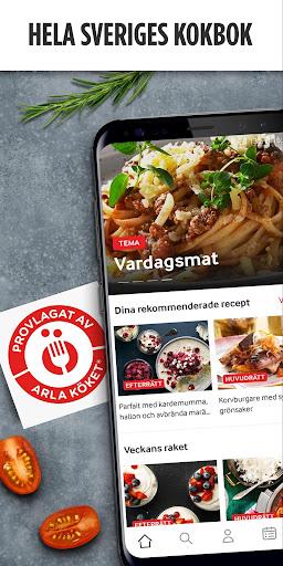 Arla Köket Recept - baka och laga mat screenshot