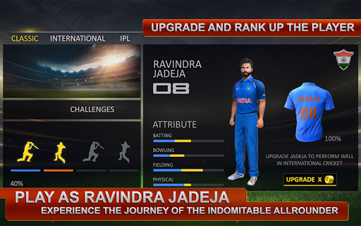 Ravindra Jadeja: Official Cricket Game 2.7 screenshots 2