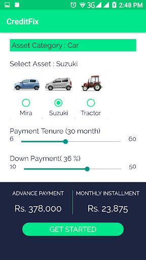 CreditFix Loan App screenshot 2