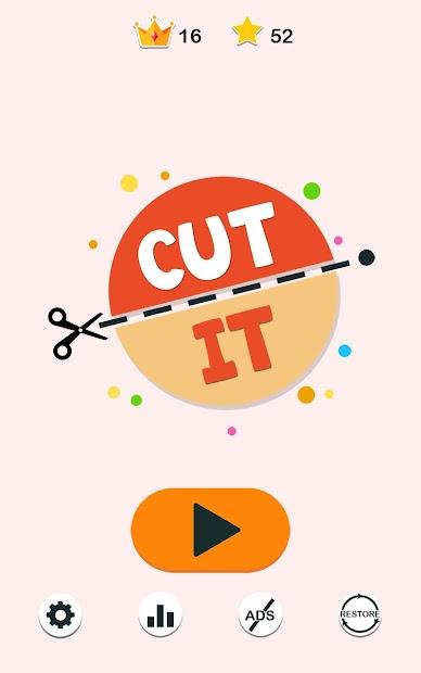 Cut It Android App Screenshot