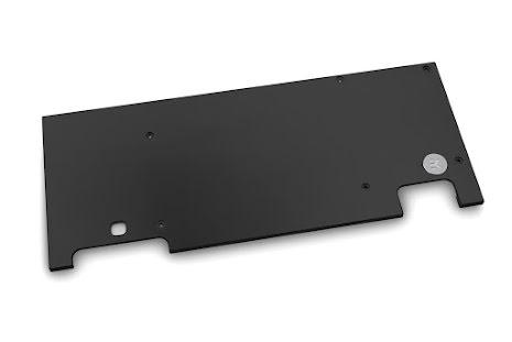 EK bakplate for EK-Vector Strix RTX 2080 Ti - Black