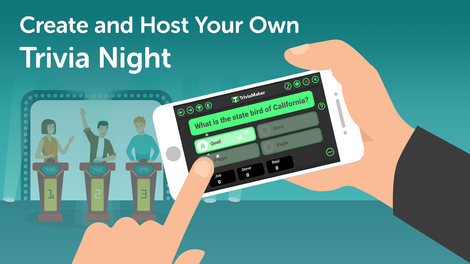 Create and host your own Trivia Night