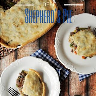 Beef Shepherd's Pie.