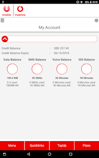 bmobile-Vodafone SI- screenshot thumbnail