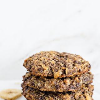 Chocolate Chip Banana Oat Cookies (Gluten Free)