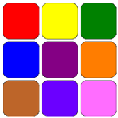 Learn colours playing