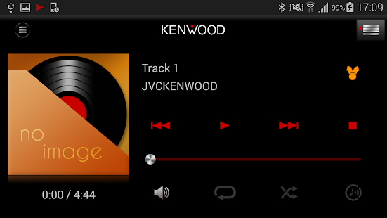 KENWOOD Music Control- screenshot thumbnail