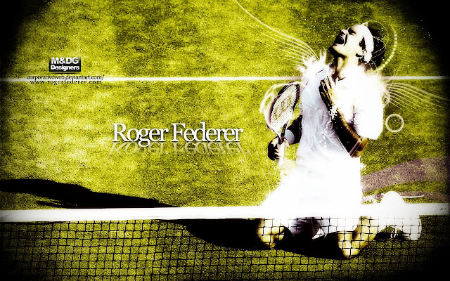 Roger Federer - New Tab in HD