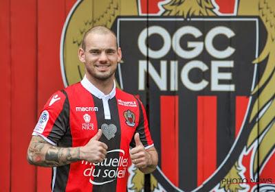 """Sneijder explique son choix de rejoindre Nice: """"Pour le projet sportif"""""""
