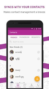 MyChat - Chat in Myanmar- screenshot thumbnail