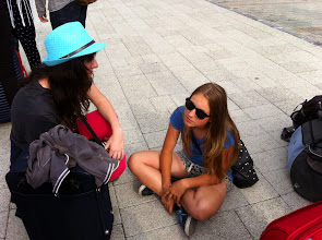 Photo: Remember Europe summer youth camp and workshop in Hungary (4 th - 10 th August 2014) - day 1 (Arrival to Budapest).