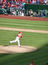 Photo: Washington Nationals Pitcher at work.