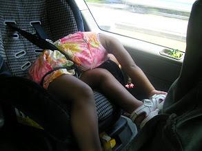 Photo: Kaleya was tired.