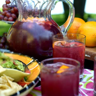 Red Wine Sangria With Fruit Recipes.
