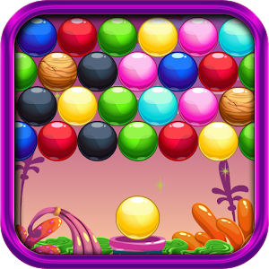 Alien Planet Bubble Shooter
