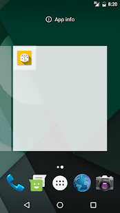 Random SMS Widget - náhled