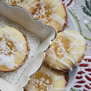 Malibu Winter Thumbprint Cookies.