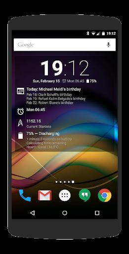Chronus-Informations-Widgets screenshot 4