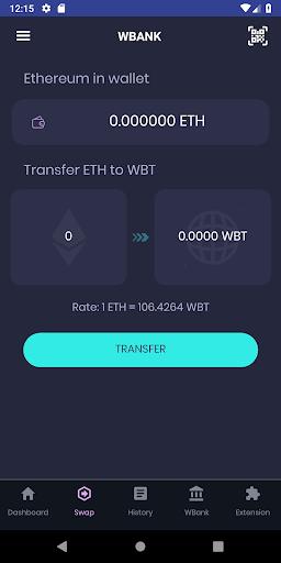 Wbank App screenshot 4