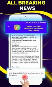 Dream11 Expert Prediction Tips, News And Teams 4